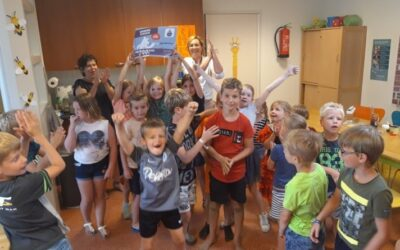 Kinderen van buitenschoolse opvang van Humankind Oost-Gelderland leren bewust omgaan met water